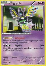BW DRAGONS EXALTED POKEMON REVERSE HOLO CARD - SIGILYPH 52/124