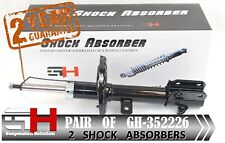 2 NEW FRONT GAS SHOCK ABSORBERS FOR NISSAN MICRA K12 01.2003-  /// GH 352226 ///