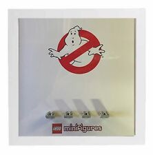 Lego Minifigure Display Case Picture Frame for Ghostbusters minifigs