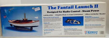 Rare The Fantail Launch II designed for Radio control-Steam Power by Midwest