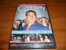 Celebrity News Reel: Hollywood's Hottest Hunk Brad Pitt (DVD) Used