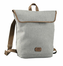 House of Marley Rucksack - Lively Up Leather Day BackPack - Saddle - BM-FB000-SD