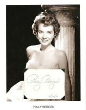 Polly Bergen Autograph The Helen Morgan Story Follies Cape Fear Caretakers