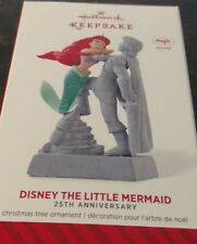 2014 Hallmark Disney The Little Mermaid 25th Anniversary Ornament