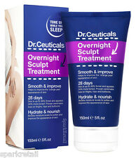 Dr Ceuticals OVERNIGHT SCULPT TREATMENT Body Cellulite Toning/Firming Gel 150ml