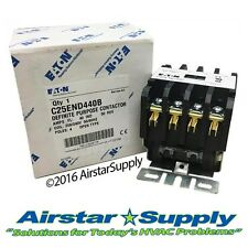 40 Amp • 4 Pole • 208/240V Coil  # C25END440B Eaton / Cutler Hammer Contactor