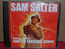 Sam Salter - After 12 Before 6 (Ghetto Fabulous Remix) PROMO CD Single