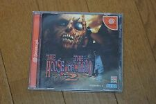 House of the Dead 2 Dreamcast Japan Rare! Tested!