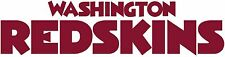WASHINGTON REDSKINS Logo ~ Window WALL DECAL * Vinyl Car STICKER ~ ANY COLOR