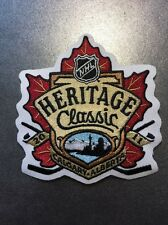 2011 NHL Heritage Classic Jersey Patch Montreal Canadiens Vs Calgary Flames
