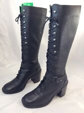 Womens Wild Pair Lace Up Brazilian Genuine Leather Boots 5 1/2 B