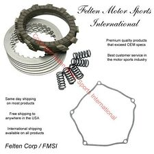 Kawasaki KX250F Clutch Kit Set Discs Disks Plates Springs Gasket KX 250F 04-08