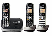Panasonic KX-TG6521B Expandable Digital Cordless System with 3 Handset