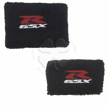 Large & Small Set Black Brake & Clutch Reservoir Cover Sleeve Motorcycle GSXR