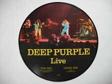 DEEP PURPLE Live LP PICTURE DISC