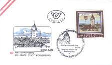 FDC 850 Jahre Stadt Korneuburg  7.2.1986  ANK1871  MIK1840  Österreich