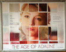 Cinema Poster: AGE OF ADALINE, THE 2015 (Adv. Quad) Blake Lively Harrison Ford