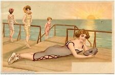 Magnifiques Baigneuses . Charme . Pin-up . Beautiful Swimmers. Charm