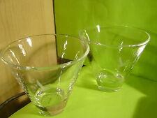2 Grey Goose Vodka Cocktail Glass New.