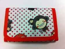 WHOLESALE JOB LOT 12 x KIDS RED MONKEY RIPPER WALLET PURSE PARTY BAG FILLER