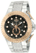 New Mens invicta 12938 Pro Diver Chronograph Black Dial Rosetone Bezel Watch