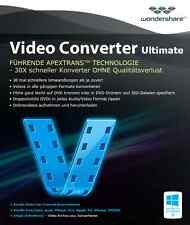 Wondershare Video Converter Ultimate 8.6 deutsche Vollversion ESD Download