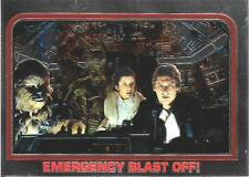 1999 Topps Star Wars Chrome Archives #37 Emergency Blast Off!   Han Solo   Leia