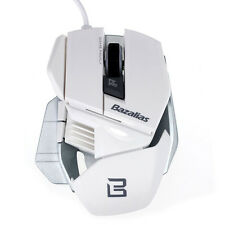 Bazalias Mouse 2000DPI 6 Button USB Wired Optical Game Gaming Mouse Mice PC New