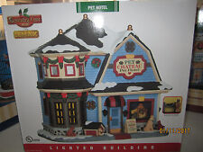 "TRAIN VILLAGE HOUSE CARNIVAL NEW "" The PET CHATEAU HOTEL ""  +DEPT 56/LEMAX info"