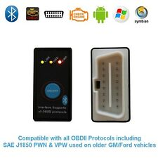 Super Mini ELM327 Bluetooth OBD2 Car Diagnostic Scanner + Power Switch v1.5