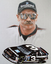 DALE EARNHARDT SR #3 GM GOODWRENCH SKETCH 8X10 GLOSSY PHOTO #2