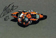 Sam LOWES SIGNED British MOTO2 Rider Autograph 12x8 Photo AFTAL COA