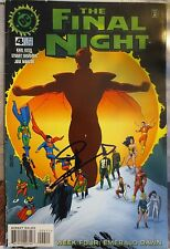 THE FINAL NIGHT #4 (EMERALD DAWN) SIGNED/AUTOGRAPHED BY STEPHEN AMELL