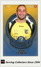2008-09 Select A League Soccer Playmaker Card PM4:Ahmad Elrich (Central Coast)