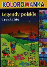 Toruń Kolorowanka Legendy toruńskie, Bracia Grimm Baśnie (cd) dla dzieci,Polska