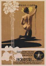 """TARGA VINTAGE """"1899 INCHIOSTRI PADOVA"""" Pubblicità, Advertising, Poster Plate"""