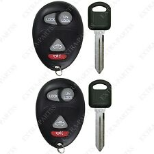2 New Replacement Keyless Entry Remote Key Fob for L2C0007T w/ Small Pk3 Keys