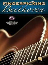 Fingerpicking Beethoven - 15 Pieces Arranged For Solo Guitar In Standard Notati