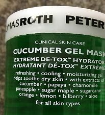 Peter Thomas Roth Cucumber Gel Mask 5oz - NEW & FRESH!