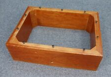 KG-5150 Subwoofer Plate Amp Amplifier WOODEN CASE / ENCLOSURE / STAND