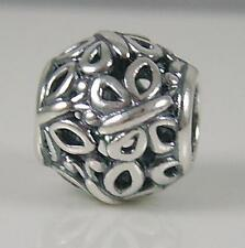 Genuine Authentic Pandora Silver Butterfly Ball Charm Bead 790895