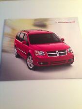 2008 Dodge Caravan 36-page Original Sales Brochure