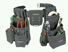 21 Pocket Heavy Duty Tool Belt  holds tools, parts and fasteners comfortably
