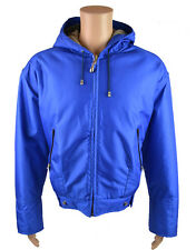 Gianfranco Ferre Men's Hooded Jacket Blue (GFFJK001)