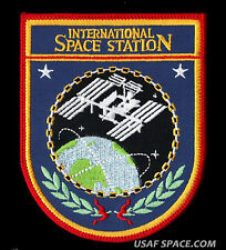 ISS INTERNATIONAL SPACE STATION NASA USAF ORIGINAL AB Emblem SPACE PATCH