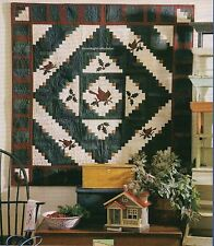 Cardinals In The Cabin Quilt Pattern Pieced/Applique MW