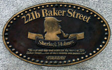 Framed Print - 221b Baker Street London Sherlock Holmes Address (Picture Poster)