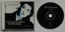 CELINE DION D 'eaux France 1995 CD LIVRET gigsticker!