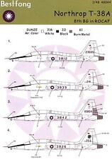 Bestfong Decals 1/48 NORTHROP T-38A TALON Republic of China Air Force
