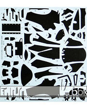 STUDIO 27 1/12 FULL CARBON DECAL YAMAHA YZR-M1 2009 for TAMIYA ROSSI